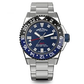 Armand Nicolet SDouth Africa GMT watch JS9