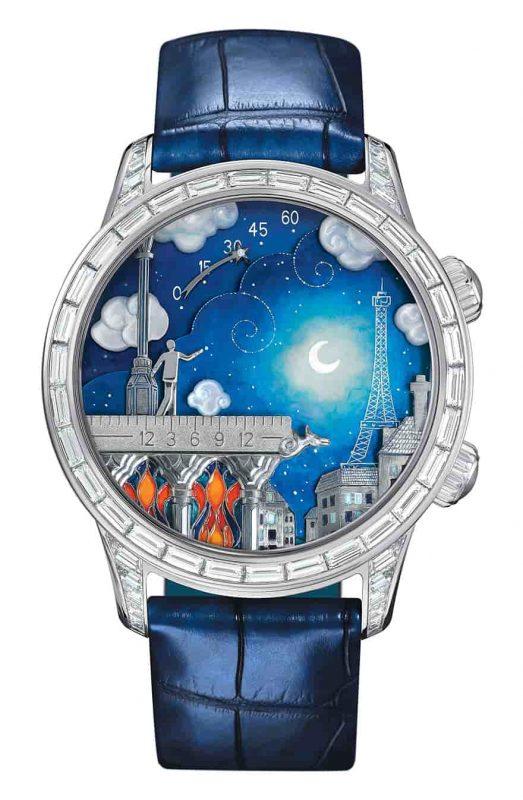Hand-Painted Poetic Wish Watch-Extraordinay watches-Armand Nicolet South Africa-Wilma Vervoort-Tekstschrijver-Content Schrijven