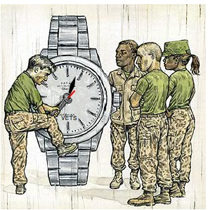 How veterans become watch makers